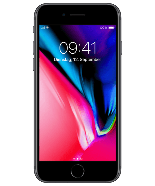 Apple iPhone 8 Plus 128GB Frontansicht