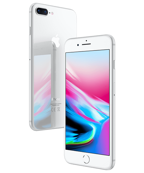 Apple iPhone 8 Plus 128GB Front-Backansicht