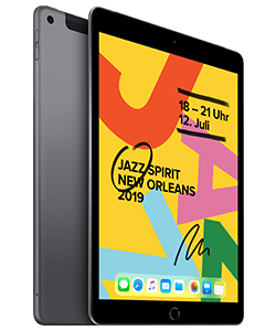 Apple iPad (2019) Wi-Fi + Cellular grau