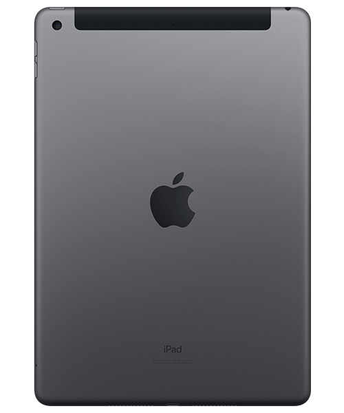 Apple iPad (2019) 32GB Wi-Fi + Cellular Rückansicht