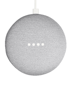 Google Home Mini light grey