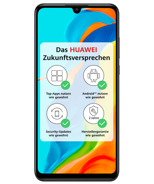 HUAWEI P30 lite New Edition Frontansicht
