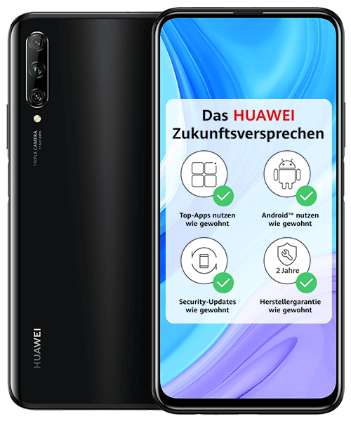 HUAWEI P smart Pro Front-Backansicht
