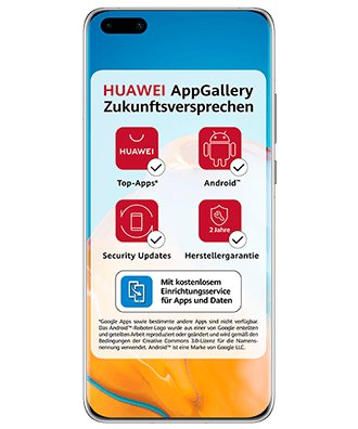 Huawei P40 Pro Frontansicht