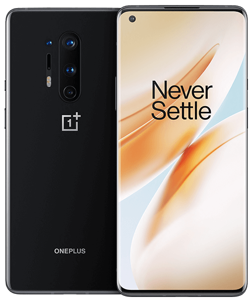 OnePlus 8 Pro Front-Backansicht