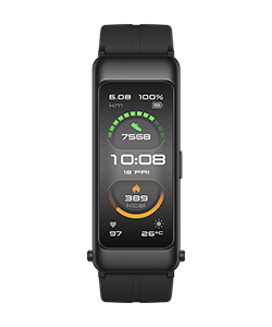 HUAWEI TalkBand B6 Sport graphite black