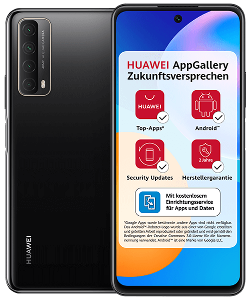 HUAWEI P smart 2021 Front-Backansicht