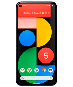 Pixel 5 just black