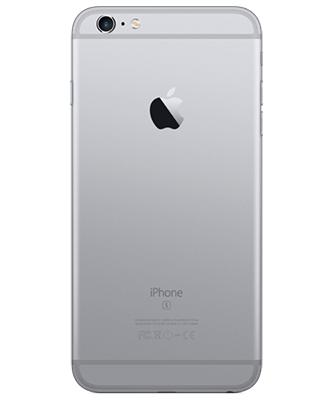 iPhone 6s Plus 128GB spacegrau Rückansicht