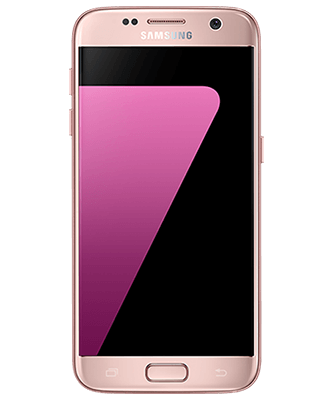Galaxy S7 32GB pink gold Frontansicht