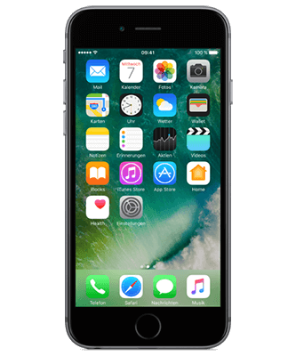Apple iPhone 6s 32GB spacegrau Frontansicht