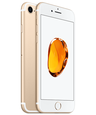 iPhone 7 32GB gold Front-Backansicht