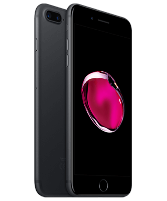 iPhone 7 Plus 32GB schwarz Front-Backansicht