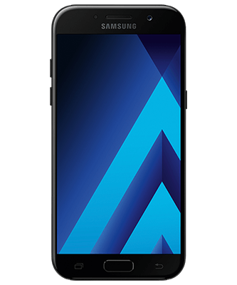 Galaxy A5 2017 black sky Frontansicht