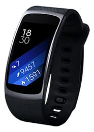 Gear Fit 2 Large dark gray
