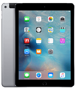 Apple iPad (2017) WiFi + Cellular grau