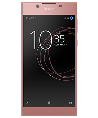 Xperia L1 pink Frontansicht