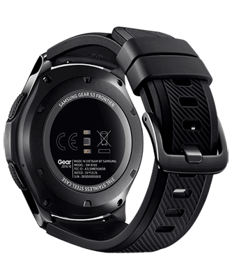 Samsung Gear S3 frontier back