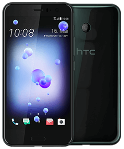 HTC U11 brilliant black mit Fan-Tarif LTE 50