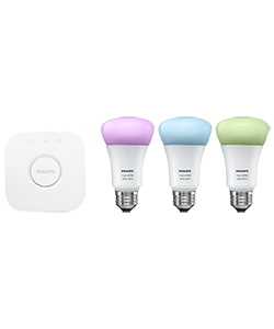 Philips hue LED E27 3er Starter Set