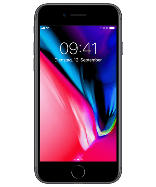 Apple iPhone 8 64GB Frontansicht
