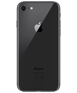 iPhone 8 64GB spacegrau Rückansicht thumb