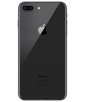 Apple iPhone 8 Plus 64GB spacegrau Rückansicht