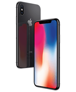 Apple iPhone X 256GB spacegrau mit VfL Bochum-T...