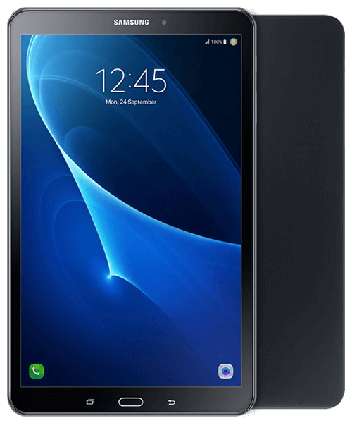 Samsung Galaxy Tab A 10.1 32GB LTE 2016 Version Front-Backansicht