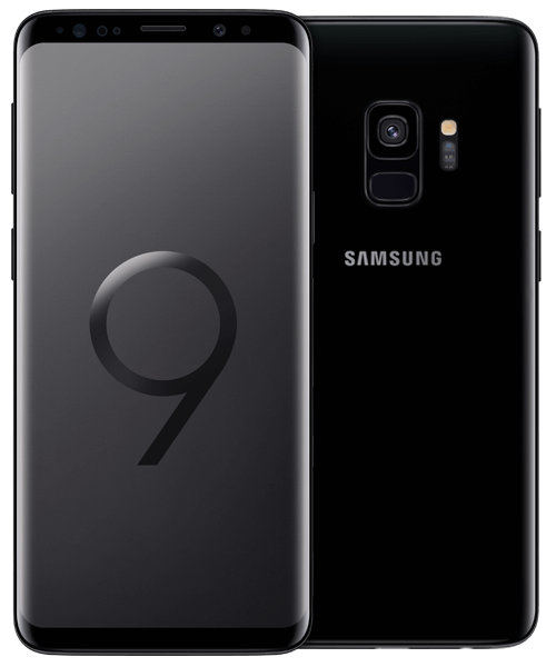 Samsung Galaxy S9 64GB Front-Backansicht
