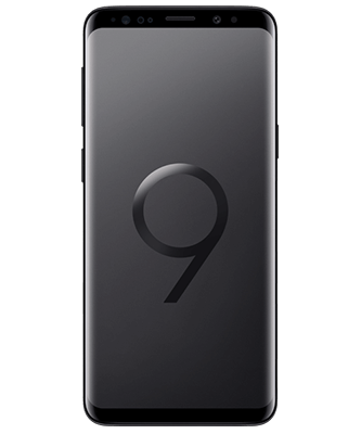Samsung Galaxy S9 64GB Midnight Black Frontansicht