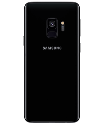 Samsung Galaxy S9 64GB Midnight Black Rückansicht