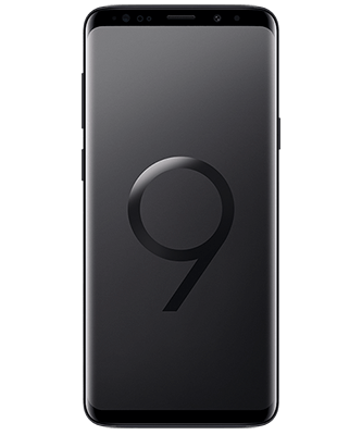 Samsung Galaxy S9+ 64GB Midnight Black Frontansicht