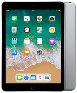 Apple iPad (2018) WiFi + Cellular grau