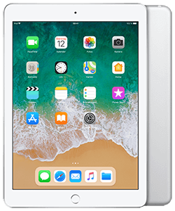 Apple iPad (2018) WiFi + Cellular silber