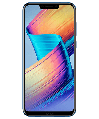Honor Play Dual SIM blau Frontansicht