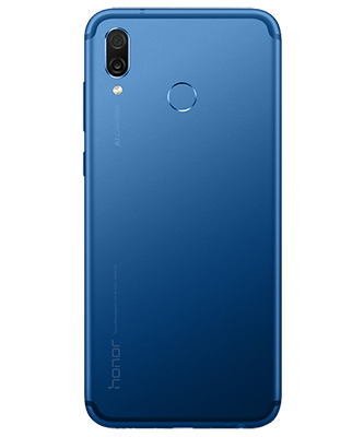 Honor Play Dual SIM blau Rückansicht