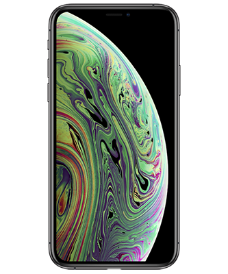 Apple iPhone Xs spacegrau Frontansicht