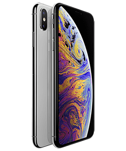 Apple iPhone XS Max 512GB silber mit Fan-Tarif