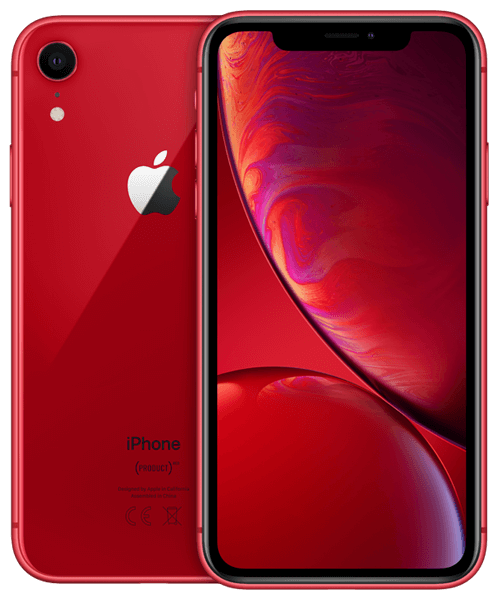 Apple iPhone XR 64GB Front-Backansicht