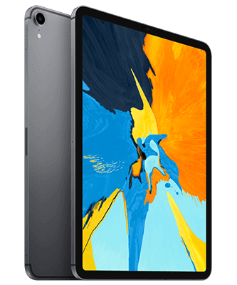 Apple iPad Pro 11.0 (2018) 64GB Wi-Fi + Cellular spacegrau Front-Backansicht