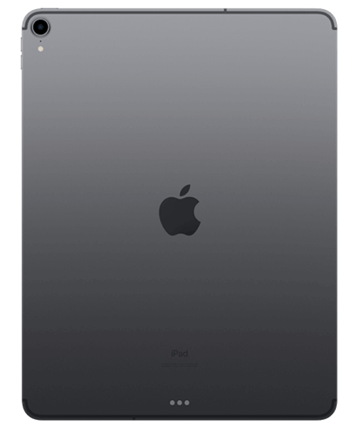 Apple iPad Pro 12.9 (2018) 64GB Wi-Fi u. Cellular Rückansicht