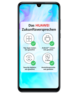 Huawei P30 lite Frontansicht
