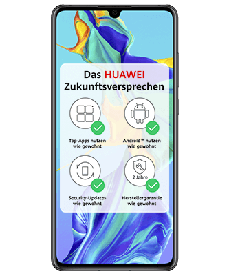 Huawei P30 Frontansicht