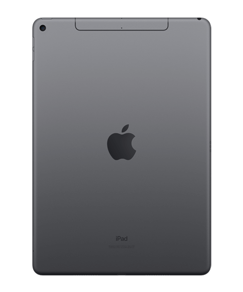 Apple iPad Air (2019) 64GB Wi-Fi u. Cellular Rückansicht