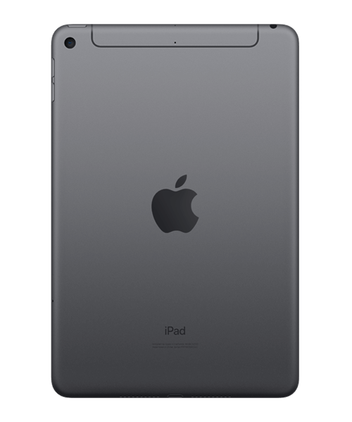 Apple iPad mini (2019) 64GB Wi-Fi u. Cellular Rückansicht